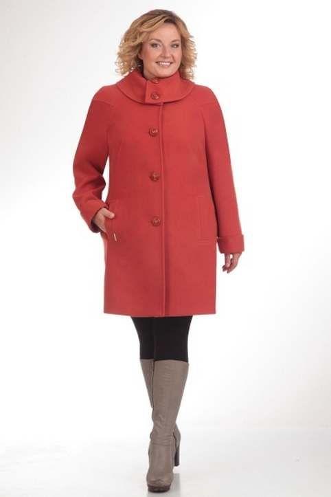 Пальто для полных женщин популярных белорусских брендов осень-зима 2017-2018