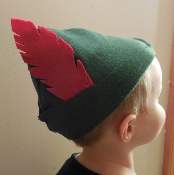 Toddler or Child Size Peter Pan Hat by FillOurDaysWithFun on Etsy
