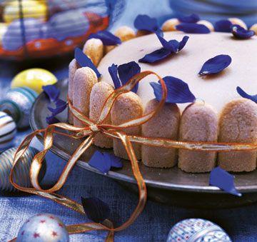 Lagkage overdækket med marcipan - Kage - Kage & dessert - Isabellas