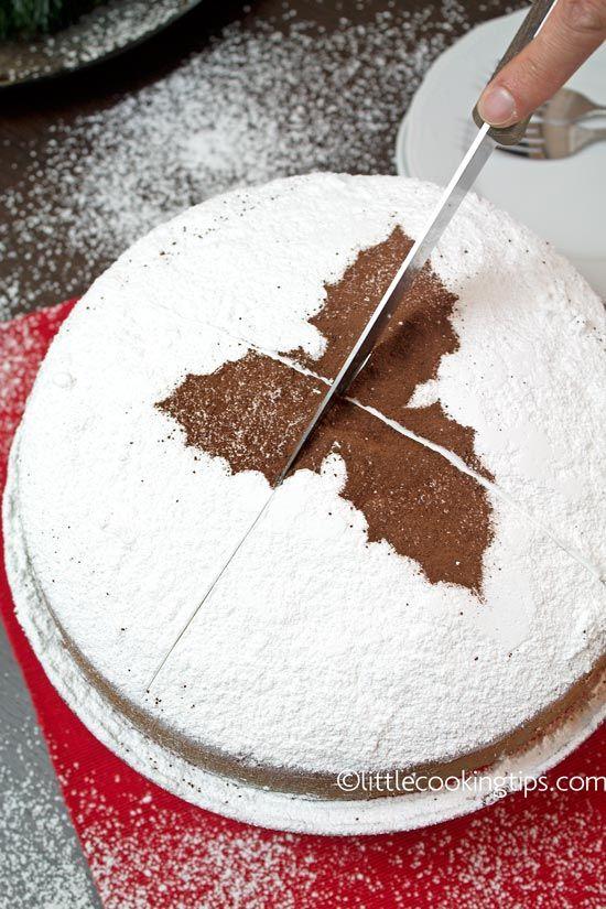 Greek New Year's lucky cake (Vasilopita)