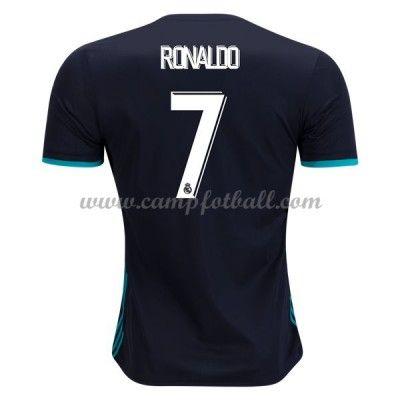 Real Madrid Fotballdrakter 2017-18 Cristiano Ronaldo 7 Bortedrakt