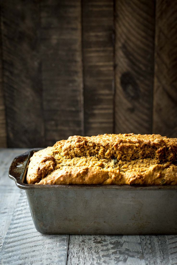 Maple Pumpkin & Brown Butter Sage Bread - Dishing Up the Dirt