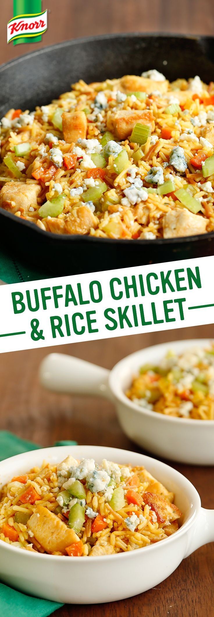 Buffalo Chicken Amp Rice Skillet Recipe More Supper Bowl