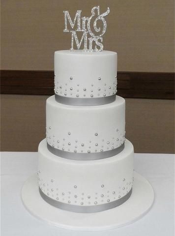 Mr And Mrs Cake Topper Wedding