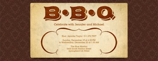 Backyard Bbq Wedding Invitations: 127 Best Images About Fundraising Dinner Ideas On