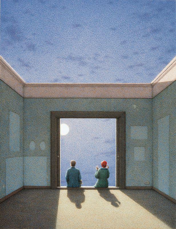 Die Heiterkeit - The Joy of Light  by Quint Buchholz, 2001 ☄
