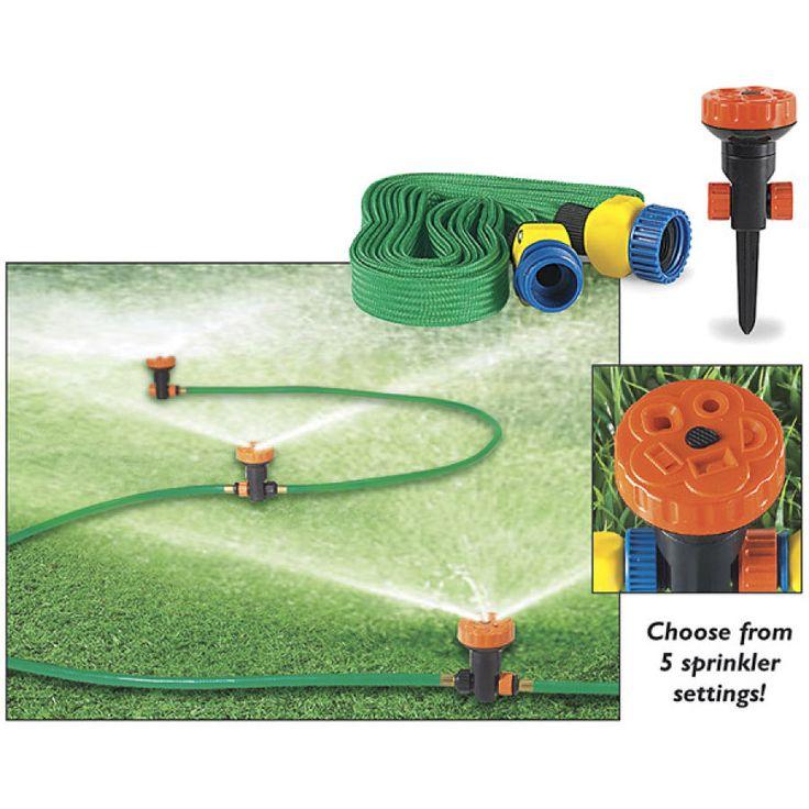 Portable 3 Sprinkler System