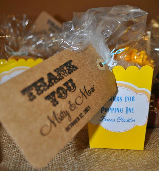 31 Best Images About Popcorn Wedding Favors Amp Ideas On Pinterest