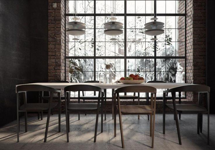 Industrial Style Apartment in Kiev by Ruslan Kovalchuk (13)
