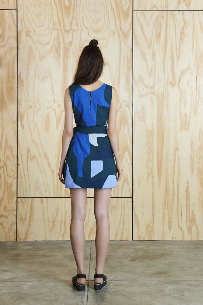 Image of  Offcuts Mini Wrap Skirt