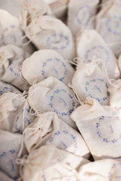 lavender tossing sachets | Sera Petras #wedding