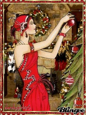 Flapper Christmas Style