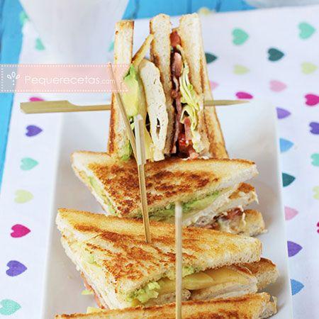 Cómo hacer un sándwich club