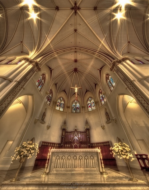 Holy Rosary Cathedral in Vancouver by janusz l, via Flickr