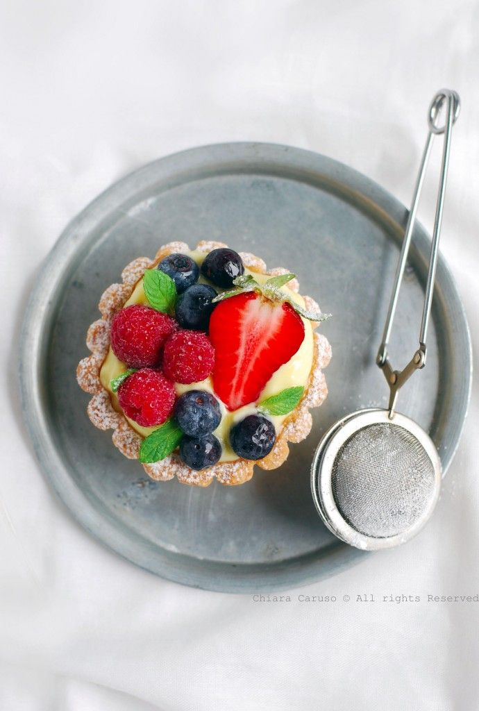 Tarte -crostatine alla frutta
