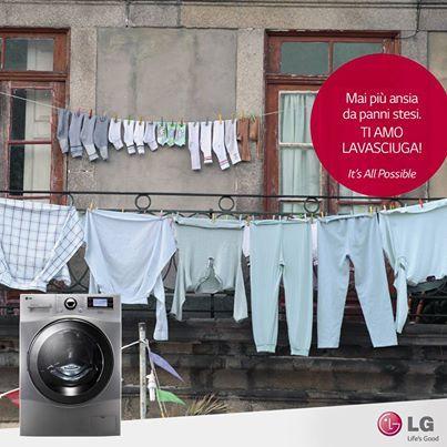 #LG Lavasciuga