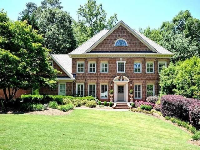 a gorgeous colonial house