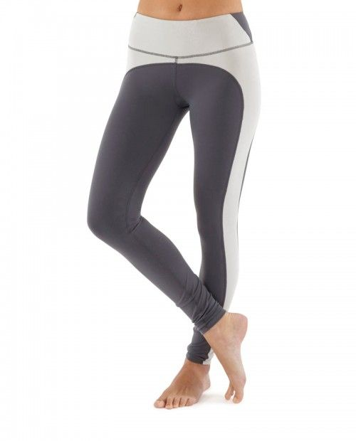 Bakku Leggings / Slate Grey Light Grey www.talbotavenue.com