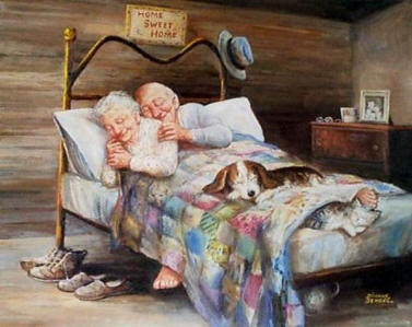 sweet dreams...Young or Old ..it's good to be in Love .. Wa-hooooo!