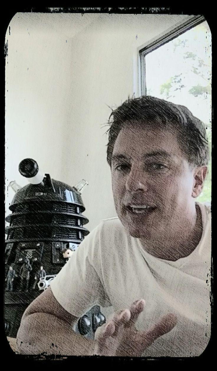 John Barrowman and his Dalek ❤