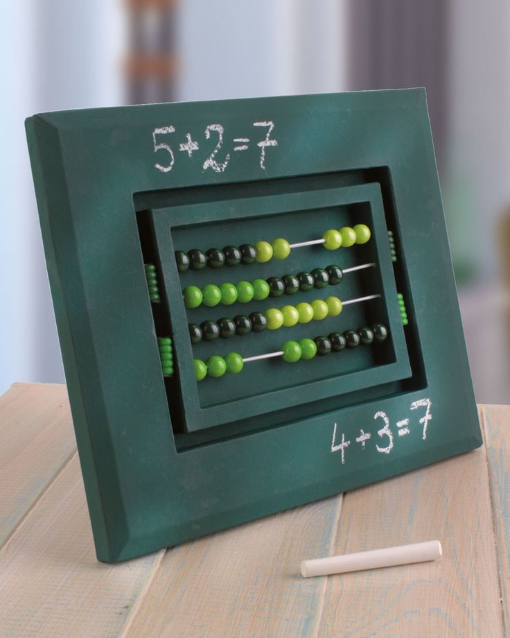 """Kugelrechner (Idee mit Anleitung – Klick auf """"Besuchen""""!) - Damit Mathe den Schrecken verliert, können die Eltern gemeinsam mit ihren Kindern diese schöne Rechenhilfe für die Einschulung basteln - daran wird garantiert mit viel Spaß und Lust geübt!"""
