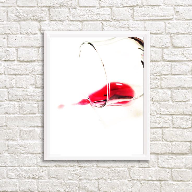 Red Wine Wall Decor : Ideas about wine wall art on decor
