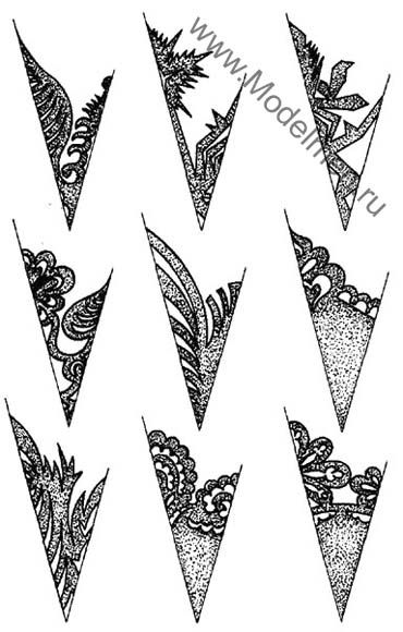 Paper Snowflakes - Many many patterns on this site along with folding instructions.