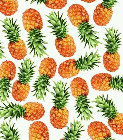 I love pinapples because one of my favorite singers has a song with tge title pinapple morning <3