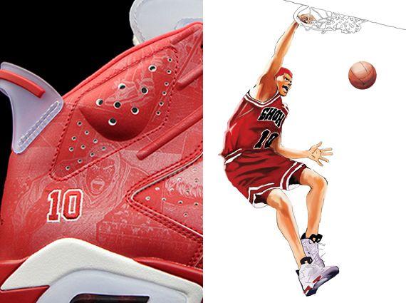 """The Anime-Inspired Air Jordan 6 """"Slam Dunk"""""""