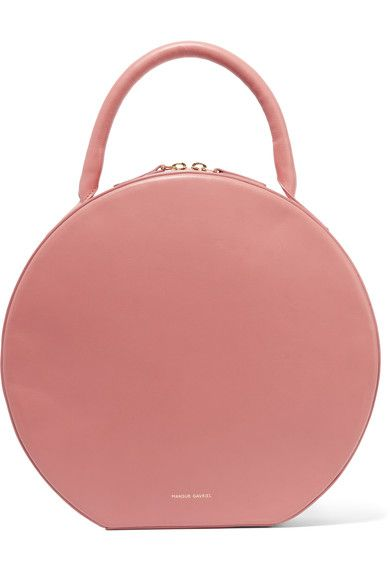 SHOP: How dreamy is this Mansur Gavriel Circle leather tote? Just wish that it came with a longer strap!