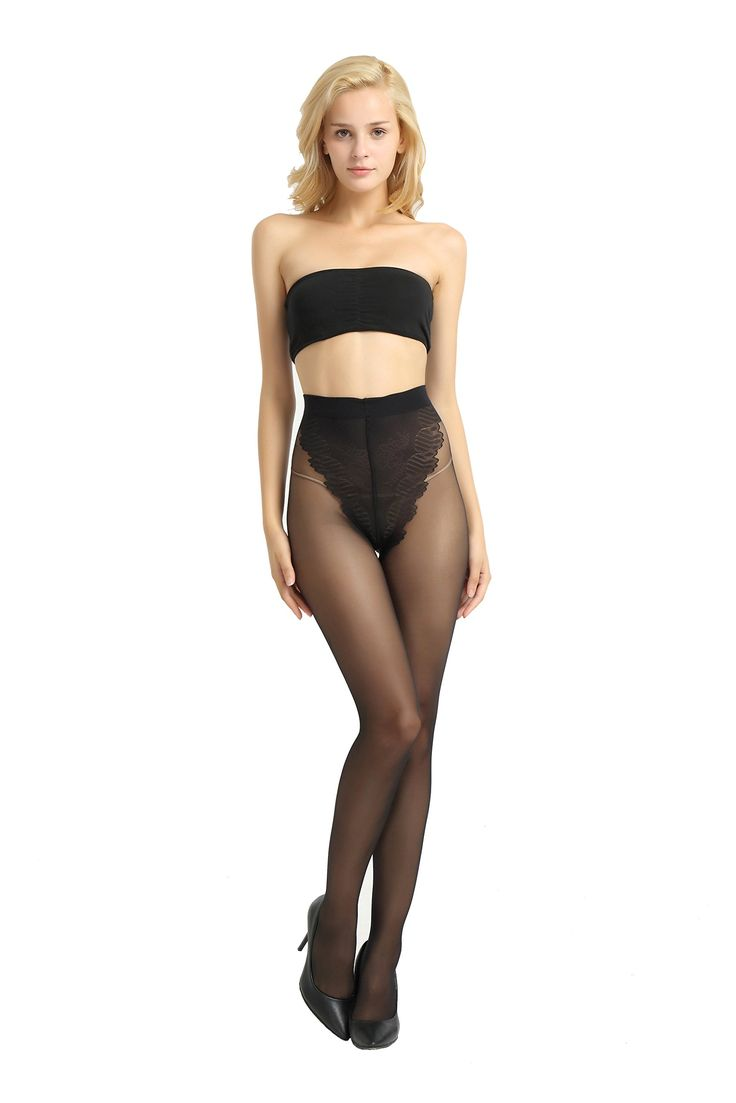 Alice & Belle Women's Super Thin Pantyhose, Soft Tights with Lace Control Top (Medium, Light Beige). Four Seasons General, in the winter it can be worn inside. Lace Control Top. Comfortable to wear, no rolled edge. Fit the sole design. Light and comfortable, like your second layer of skin. Transparent, transparent! As thin as air!.