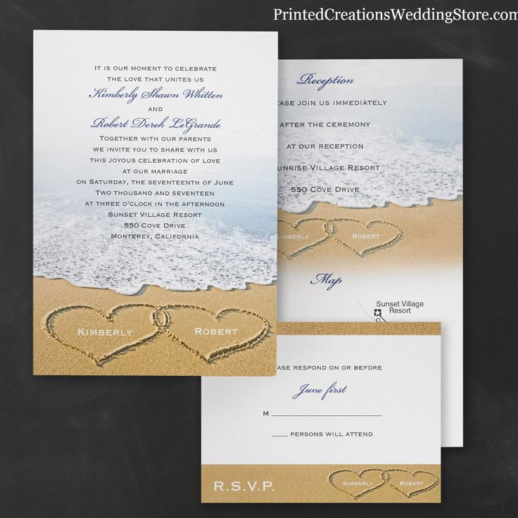 wedding reception directions card%0A Value style and save with this invitation card  Your reception information  listed on the backside of the invitation with the option to add directions  to
