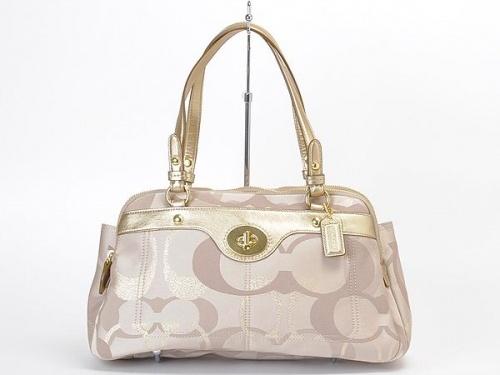 Coach 18475 Penelope Opt Signature Satchel Handbag Purse   Handbags   Viva La Vida Boutique