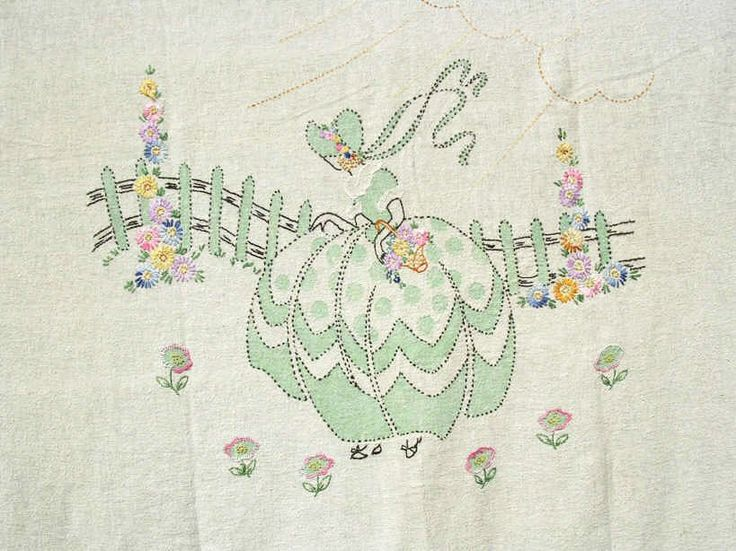 Embroidered Southern Belles Runner Embroidery Southern Belles