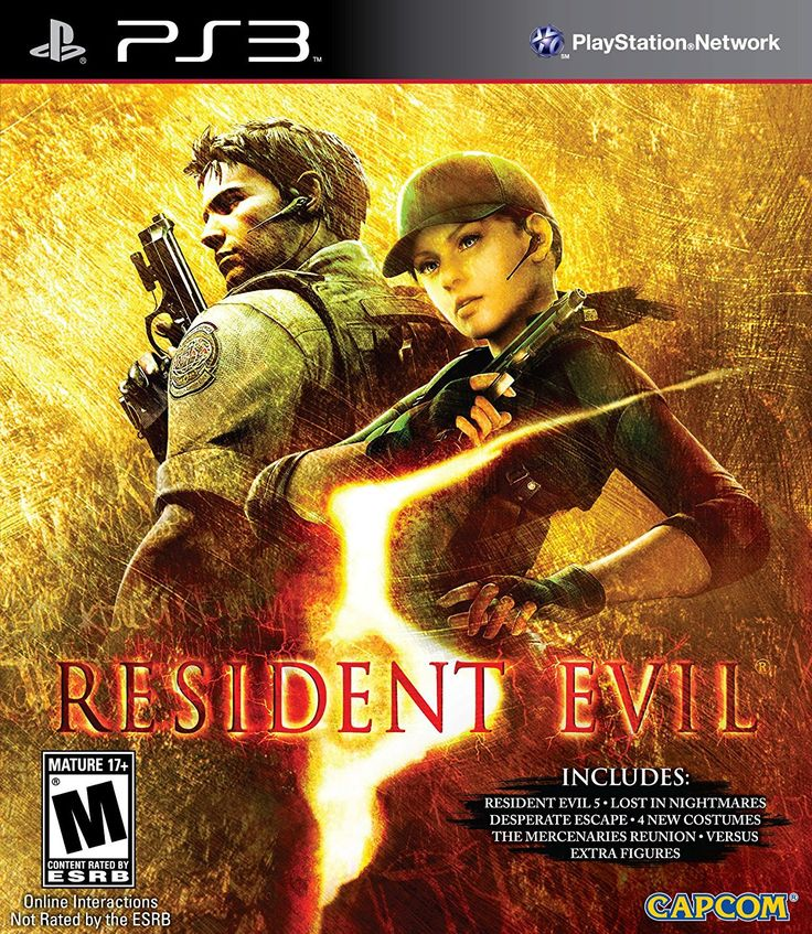 Resident Evil 5: Gold Edition For PlayStation 3 (Physical Disc)