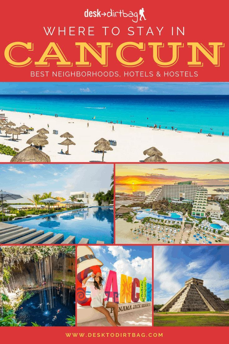 Where To Stay In Cancun The Best Neighborhoods Hostels And Hotels Cancun Mexico Travel Cancun Hotels
