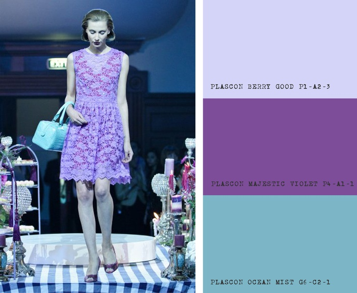 KLuK CGDT Cape Town Fashion Week Show, Colour Inspiration for Turquoise & Purples