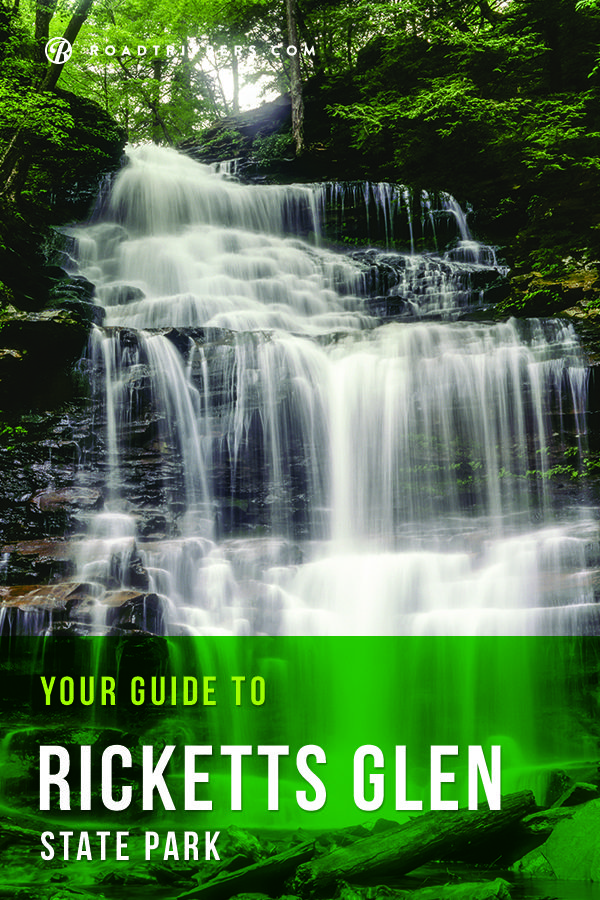 Ricketts Glen State Park is home to 22 waterfalls, mountains and gorgeous 200 year old trees!