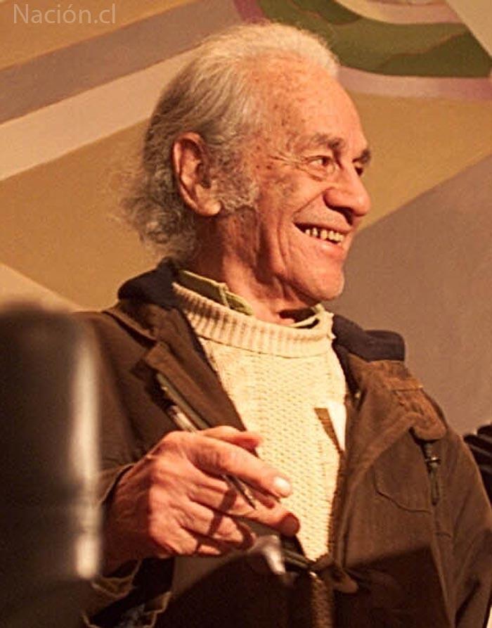 Nicanor Parra. (Archivo La Nación/ Nación.cl)