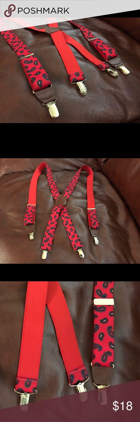 Men's CAS W. GERMANY Paisley Suspenders Like brand new, CAS suspenders. CAS W-GERMANY Accessories Suspenders