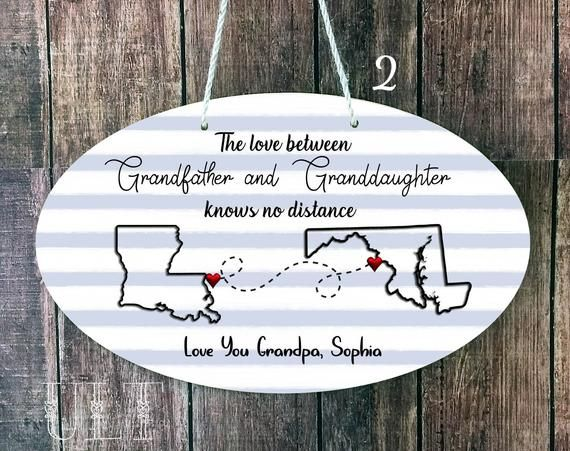 Birthday Gifts for Grandpa Grandpa Gift from Granddaughter for Father/'s Day The Love Between A Grandfather and Granddaughter is Forever Keychain
