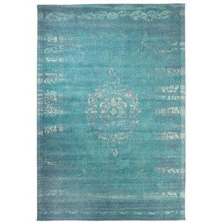 Dae Jadeite is een prachtig Vintage vloerkleed geïnspireerd op een traditioneel Oosters tapijtontwerp. Het karpet is met de hand geweven en bestaat uit Chenille.
