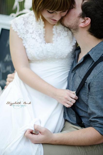 A precious vintage wedding by Elizabeth Nord Photography