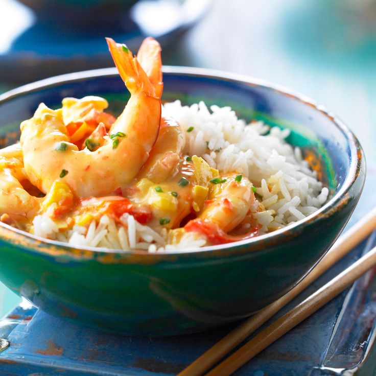 Découvrez la recette des crevettes au curry