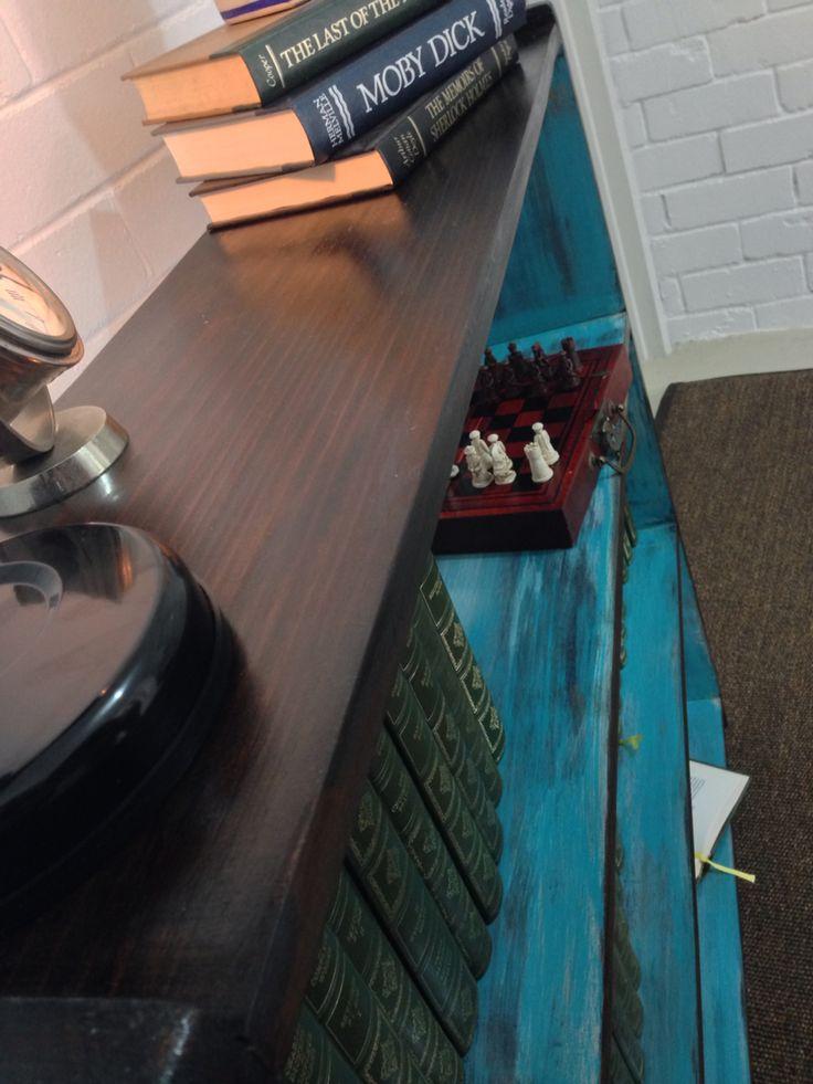 Restored timber bookcase - https://www.facebook.com/RestoredbyGil