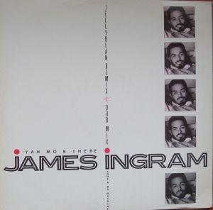 "James Ingram – Yah Mo B There 12"" W9394(T)  Electronic  Disco  Winyle"