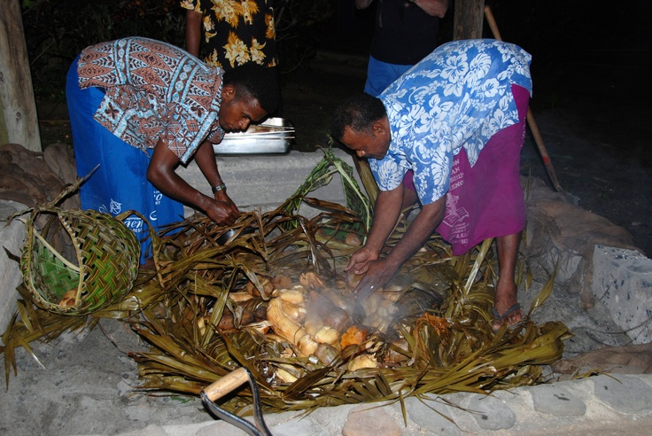 Fijian Lovo~ Papageno~ Kadavu Philippines