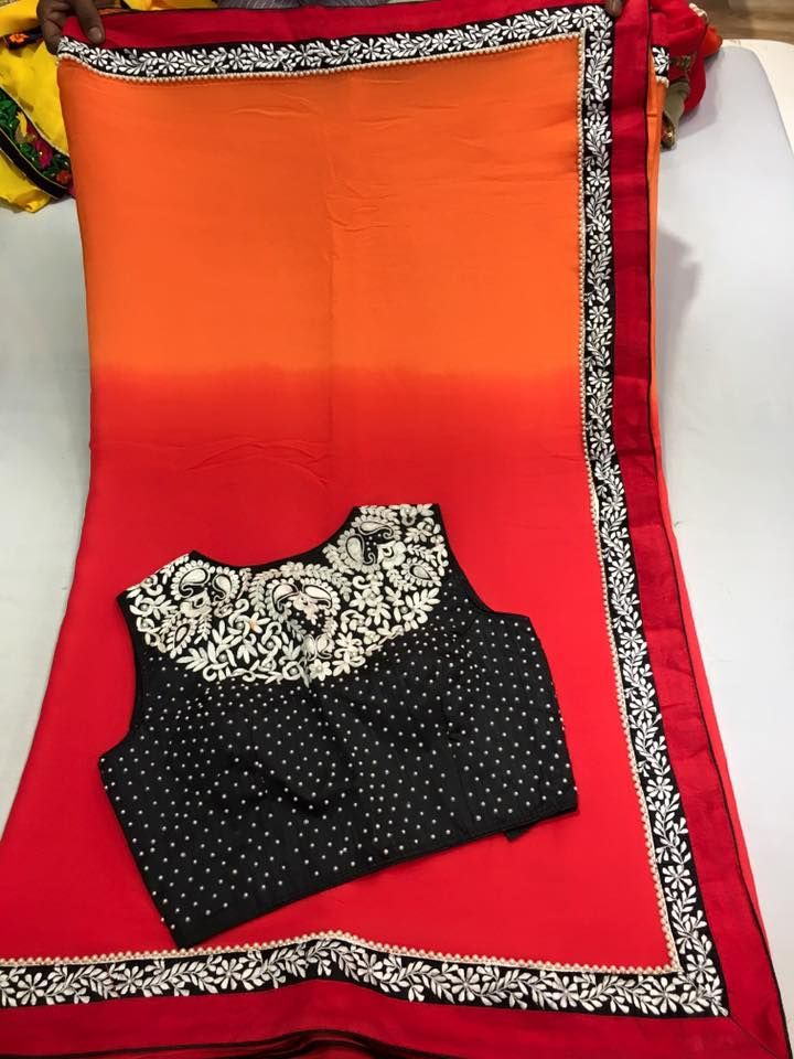 Fancy Sarees Paired with Designer Semi stitched Blouse | Buy Online Designer Sarees | Elegant Fashion Wear