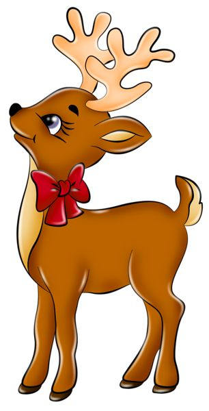 Cute Reindeer PNG Picture