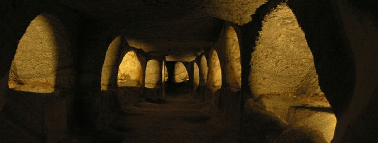 Catacombs, Milos island